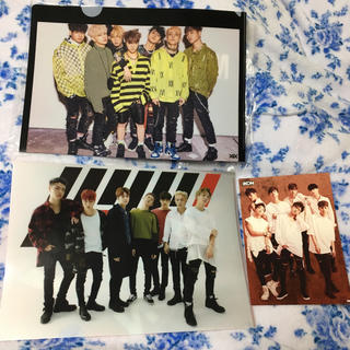 アイコン(iKON)のiKON ファイル&カード(アイドルグッズ)