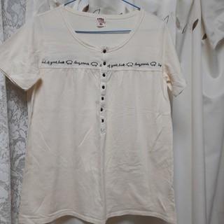 ドラッグストアーズ(drug store's)のドラッグストアーズのキナリ色のトップス(カットソー(半袖/袖なし))