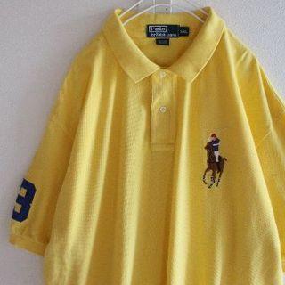ポロラルフローレン(POLO RALPH LAUREN)のUS ラルフローレン 3Yellow ビッグポニー 半袖 ポロシャツ XXL(ポロシャツ)