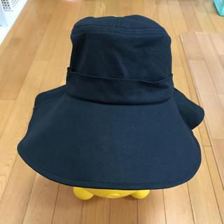 シマムラ(しまむら)の帽子  黒  レディース(ハット)