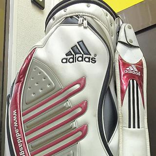 adidas - アディダス  キャディーバッグ  ゴルフバッグ