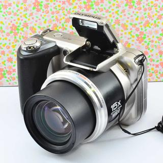 ✨Wifiでスマホに転送 &小ぶりな本格コンデジ✨オリンパス SP-600UZ(コンパクトデジタルカメラ)