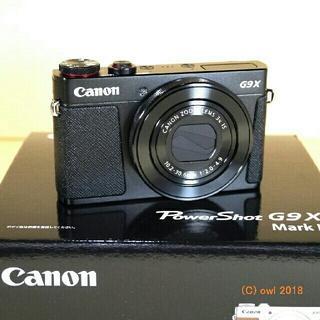 キヤノン(Canon)の未使用新品❗Canon PowerShot G9X mark2(コンパクトデジタルカメラ)