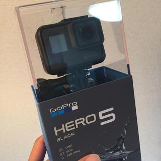ゴープロ(GoPro)の【新品・未使用】GoPro HERO5 Black CHDHX-502(ビデオカメラ)
