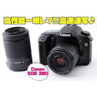 キヤノン(Canon)の☆★高性能一眼レフ!!高速連写♪タフな頑強ボディ♪Canon EOS 30D(デジタル一眼)