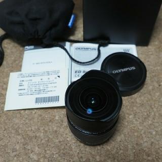 オリンパス(OLYMPUS)のオリンパス m.zuiko 8mm f1.8 fisheye pro(レンズ(単焦点))