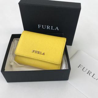 Furla - 美品❤️ フルラ  コンパクトウォレット 三つ折り財布 イエロー