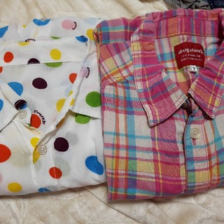 ドラッグストアーズ(drug store's)のドラッグストアーズの七分丈袖のシャツ(シャツ/ブラウス(長袖/七分))
