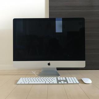 マック(Mac (Apple))のiMac Retina 5K 27インチ MK462(デスクトップ型PC)