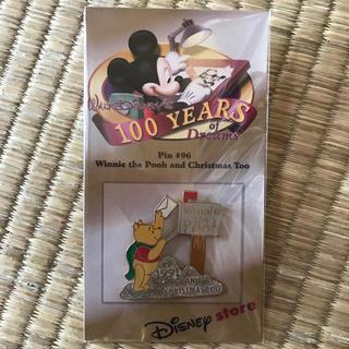ディズニー(Disney)のウォルトディズニー100周年記念ピンバッチ(バッジ/ピンバッジ)