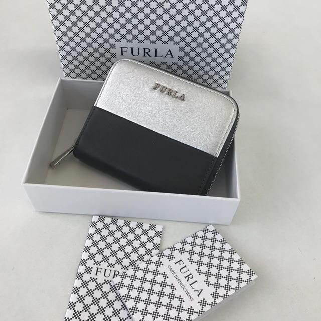 928585acadfd Furla(フルラ)の美品❤ フルラ ラウンドファスナー コンパクト 財布 バイカラー