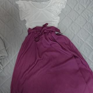 シマムラ(しまむら)の新品  スカート トップスセット(セット/コーデ)