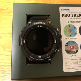 カシオ(CASIO)のCASIO PRO TREK Smart カシオ スマートウォッチ(腕時計(デジタル))
