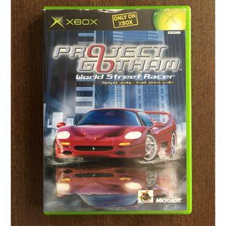 エックスボックス(Xbox)のプロジェクトゴッサム X box(家庭用ゲームソフト)