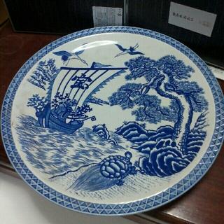 エフィレボル(.efiLevol)の 宝船 模様 大皿( 陶器製品)(食器)