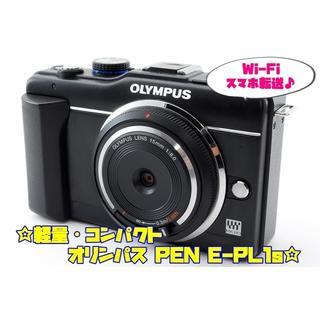 オリンパス(OLYMPUS)の☆★Wi-Fi対応&大人気ブラック♪オリンパス PEN E-PL1s★☆(ミラーレス一眼)