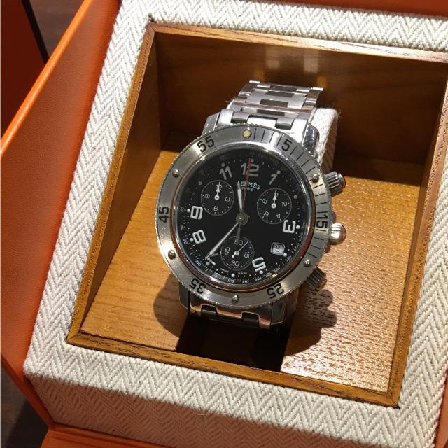 new style cd454 b432d メンズ 腕時計 エルメス クリッパーダイバー クロノグラフ CL2.910 | フリマアプリ ラクマ