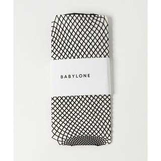 バビロン(BABYLONE)のBABYLONE ミドルネット ソックス 網タイツ 新品未使用未開封(ソックス)
