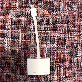 アップル(Apple)のApple HDMI変換ケーブル(映像用ケーブル)