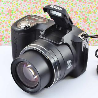 ✨Wifiでスマホに転送 &可愛い本格コンデジ✨ニコン COOLPIX L100(コンパクトデジタルカメラ)