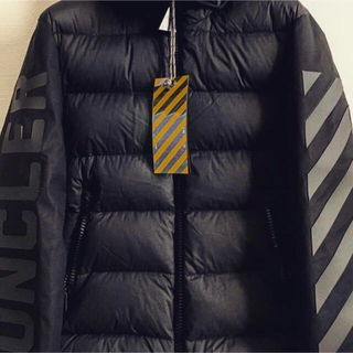 OFF-WHITE - offwhite moncrel off white モンクレール エンクロス
