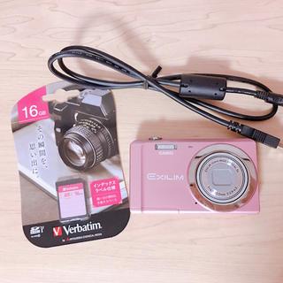 カシオ(CASIO)のCASIO デジタルカメラ EXILIM ピンク EX-ZS5PK(コンパクトデジタルカメラ)