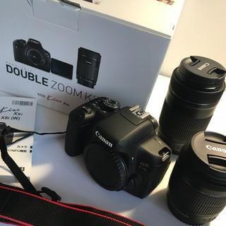 キヤノン(Canon)の一眼レフカメラ 12万円分 セット 2回のみ使用 美品(デジタル一眼)