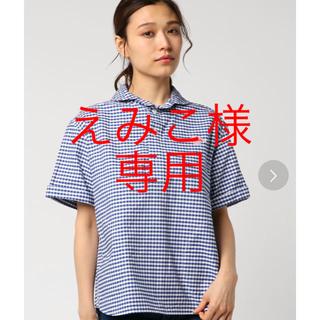 ダントン(DANTON)の【DANTON】ギンガムチェックシャツ(シャツ/ブラウス(半袖/袖なし))