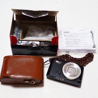 カシオ(CASIO)の新品同様 お買い得セット EXILIM EX-ZR4100 超広角19mm(コンパクトデジタルカメラ)