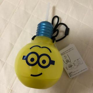 ユニバーサルスタジオジャパン(USJ)の電球ミニオンドリンクボトル(キャラクターグッズ)