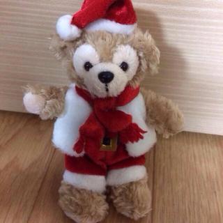 ディズニー(Disney)の2010クリスマス★ダッフィーストラップ(ぬいぐるみ)