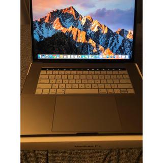 マック(Mac (Apple))のMacbook Pro Apple 15インチ スペースグレイ USキーボード (ノートPC)