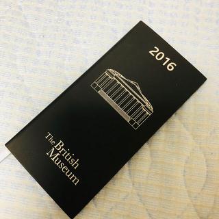 ハロッズ(Harrods)のブリティッシュミュージアム ロンドン 手帳 2016(手帳)