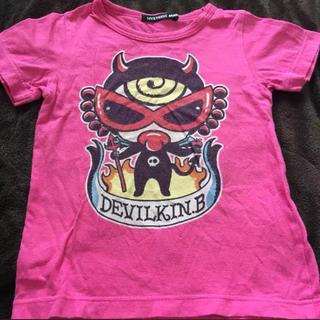 ヒステリックミニ(HYSTERIC MINI)のヒスミニ  デビルキン  Tシャツ  100cm(Tシャツ/カットソー)