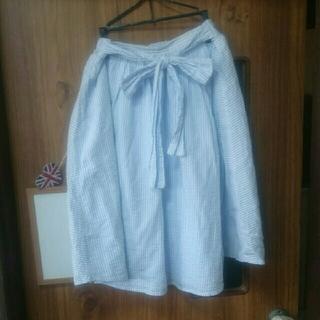 シマムラ(しまむら)のしまむら ストライプ スカート(ひざ丈スカート)