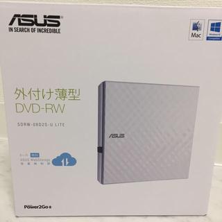 エイスース(ASUS)の外付け薄型DVD-RW(PC周辺機器)