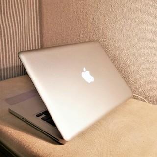 マック(Mac (Apple))のMacBookPro 13インチ 大容量500GB Office&DVD搭載(ノートPC)
