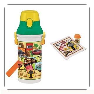 【セット買い】直飲み 水筒 プラワンタッチ ボトル 480ml + お(容器)