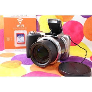 オリンパス(OLYMPUS)のWi-Fiでスマホへ★オリンパス SP-600 UZ★近くから遠くまでOK(コンパクトデジタルカメラ)