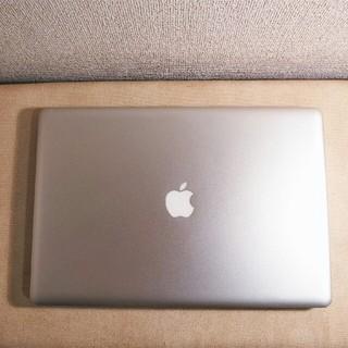 マック(Mac (Apple))の美品 超大画面 MacBook PRO バッテリー充放電13回 大容量 DVD付(ノートPC)