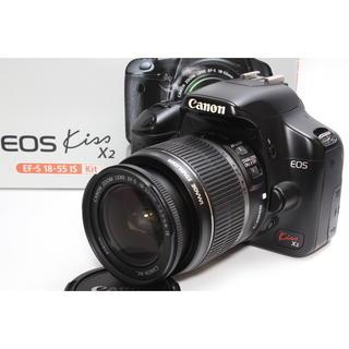 キヤノン(Canon)の❤️憧れのCanon一眼レフ❤️Canon EOS Kiss X2 レンズキット(デジタル一眼)