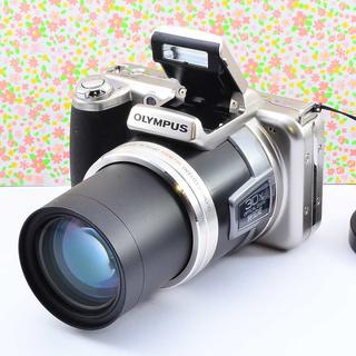 ✨Wifiでスマホに転送 &小ぶりな本格コンデジ✨オリンパス SP-800UZ(コンパクトデジタルカメラ)