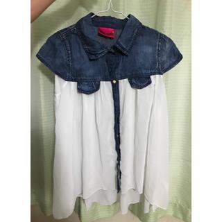 アベイル(Avail)の子供服 シースルーシャツ(Tシャツ/カットソー)