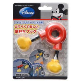 ディズニー(Disney)の車用収納フック ディズニー ダブルフック ミッキー  (車内アクセサリ)