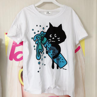 ネネット(Ne-net)のネネット 美品らむねにゃーカットソー(Tシャツ(半袖/袖なし))