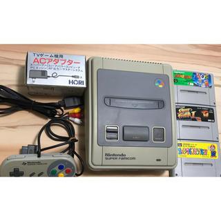 スーパーファミコン - スーパーファミコン 本体 とカセットのセット