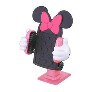 ディズニー(Disney)のナポレックス 車載ホルダー ディズニー スマートフォンホルダー3D ミニー (車内アクセサリ)