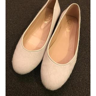 トッズ(TOD'S)のTOD'S off-white Ballerinas(ローファー/革靴)
