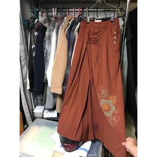 オッズオン(OZZON)のオッズオン 袴スカート(ロングスカート)