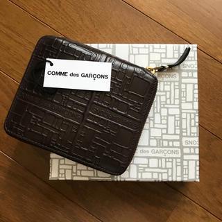 コムデギャルソン(COMME des GARCONS)のCOMME des GARCONS コムデギャルソン 財布 ブラウン(折り財布)